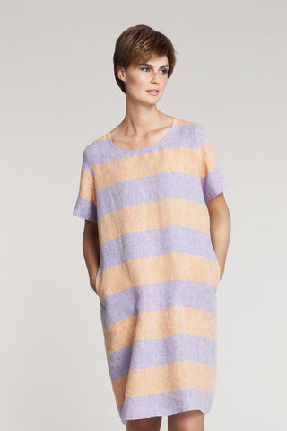 Ritva Falla Krisse Dress Lilac/Orange