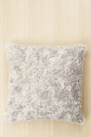 "Marimekko Furry 20"" Pillow Cover Beige"