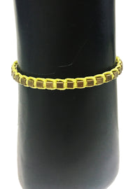 Mandy Campio Blocks Bracelet Lemon