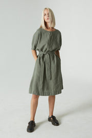 Rush Dress Pine Green