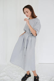 Ellen Dress Ice Grey