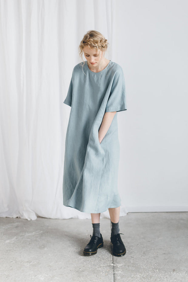 Ellen Dress Sea Green