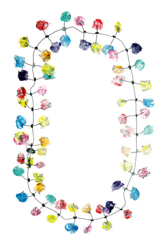 Annemieke Broenink Lace Necklace Happy 2018