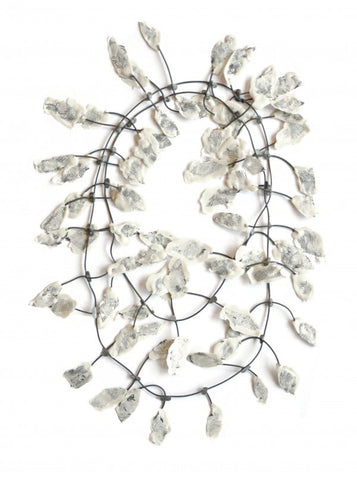 Annemieke Broenink Lace Necklace White