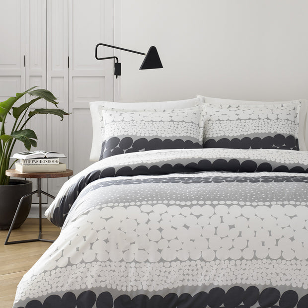 Marimekko Jurmo US Sized Bedding Grey/White - KIITOSlife - 2