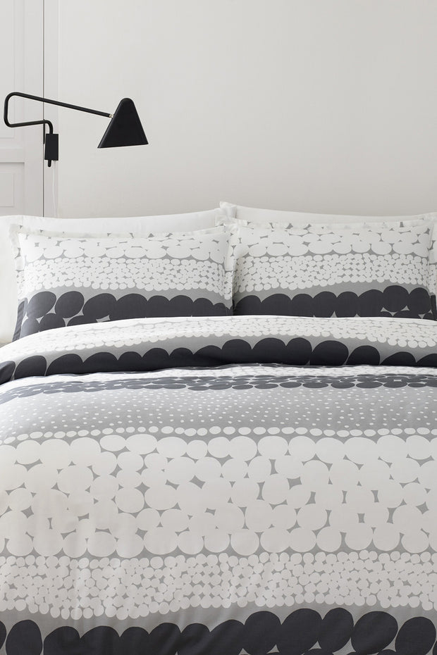 Marimekko Jurmo US Sized Bedding Grey/White - KIITOSlife - 1