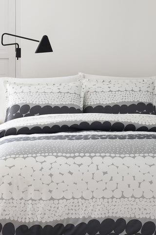 Marimekko Jurmo US Sized Bedding Grey/White