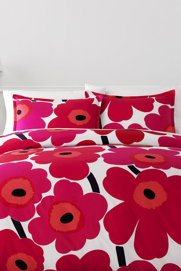 Marimekko Marimekko Unikko US Sized Bedding Red/White - KIITOSlife - 1