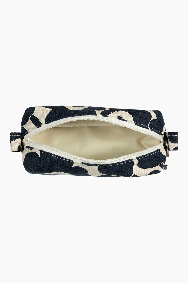 Marimekko Tiise Mini Unikko Cosmetic Bag Navy/Cotton
