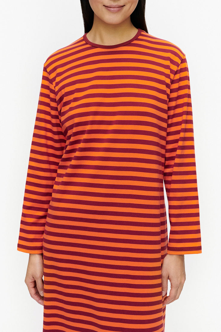 Marimekko Katju Nightgown Dark Red/Orange