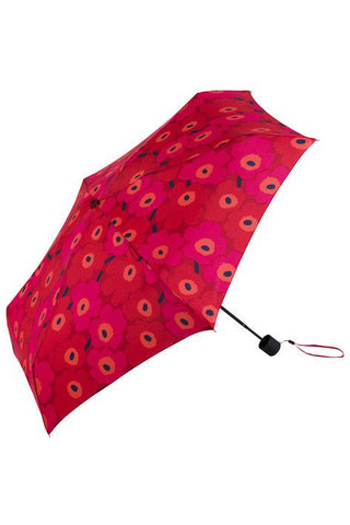 Marimekko Mini Unikko Mini Manual Umbrella Red/Pink