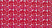 Marimekko Marimekko Mini Unikko Fabric Red/Pink/White - KIITOSlife - 2