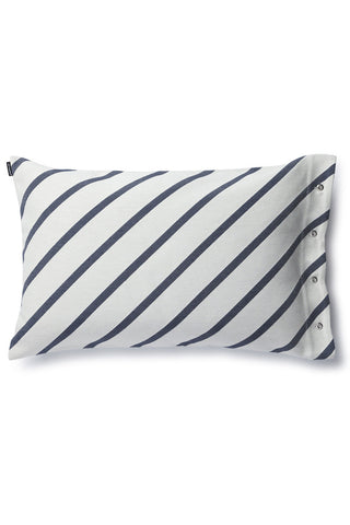 "Marimekko Mint 16"" x 24"" Pillow Cover Off White/Navy"