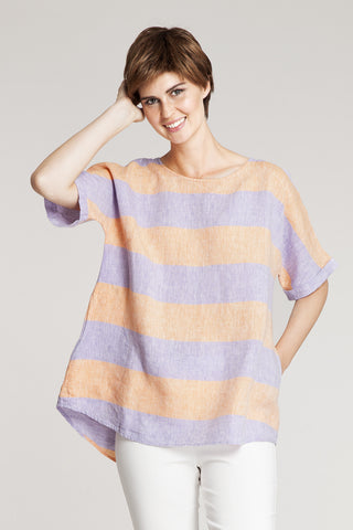 Ritva Falla Nipsi 1 Top Lilac/Orange