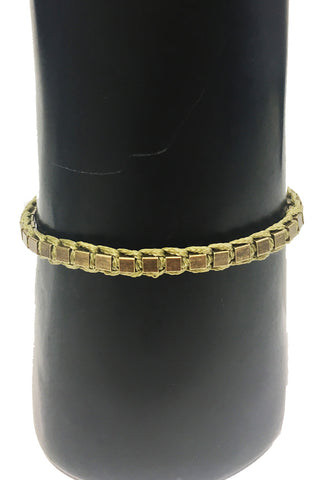 Mandy Campio Blocks Bracelet Olive