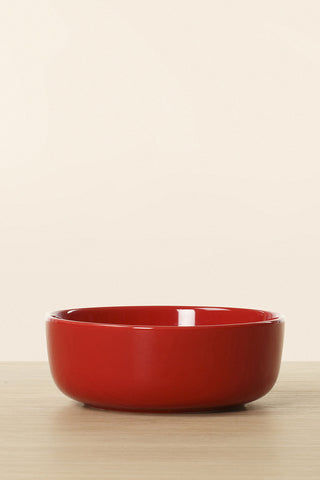 Marimekko Oiva Medium Bowl 4 DL Red