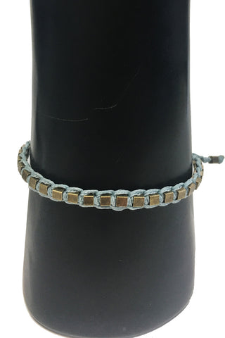 Mandy Campio Blocks Bracelet Powder Blue