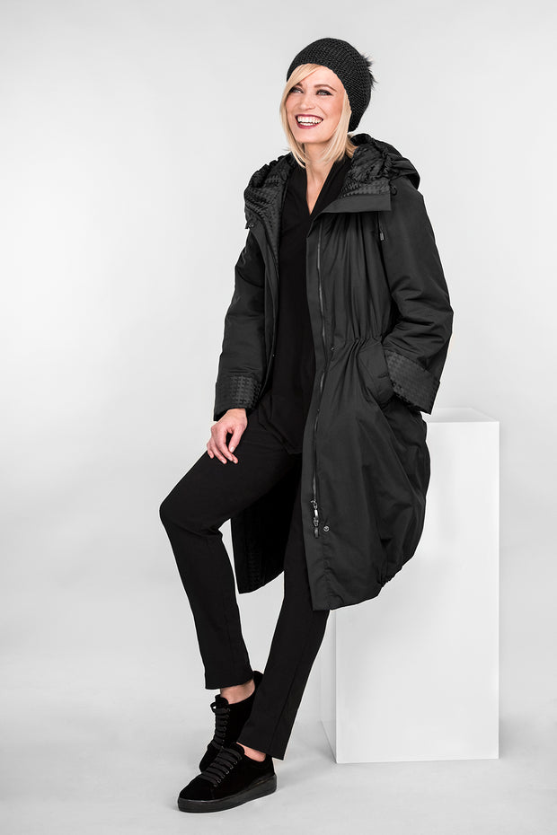 Ritva Falla Pallas Winter Coat Black