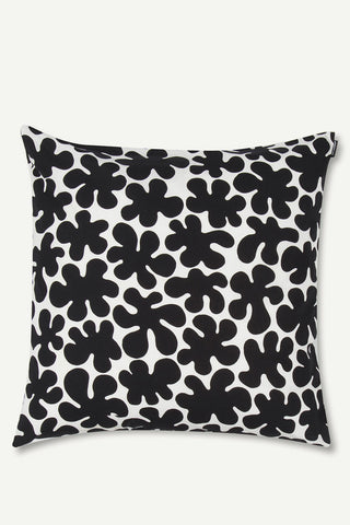 "Marimekko Paprika 20"" Pillow Cover Black/White"