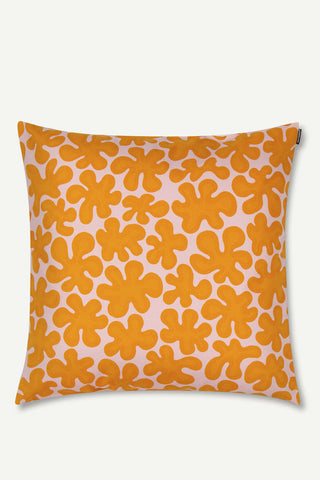 "Marimekko Paprika 20"" Pillow Cover Orange/Pink"