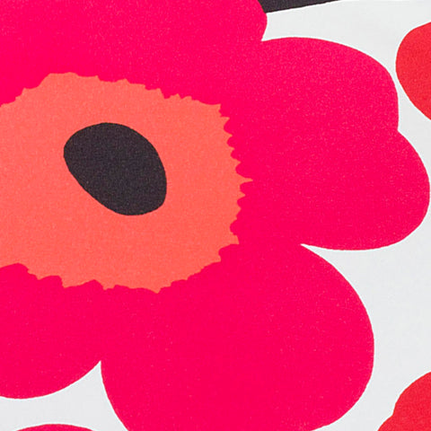 Marimekko Pieni Unikko Mini Manual Umbrella Red/Pink/White