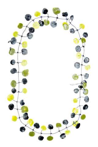 Annemieke Broenink Poppy Necklace Green Mix