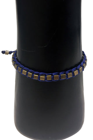 Mandy Campio Blocks Bracelet Royal Blue