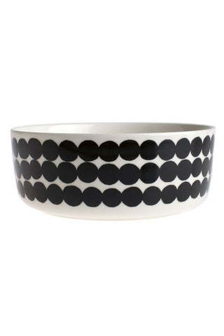 Marimekko Rasymatto Serving Bowl Black/White