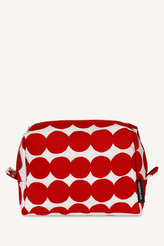 Marimekko Verso Rasymatto Cosmetic Bag Red/White