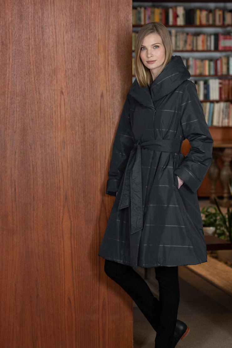 Ritva Falla Sophia Coat Black/Grey