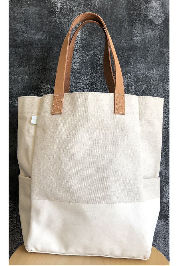 See Design City Tote Bag Natural
