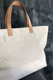 See Design Overnighter Bag Natural