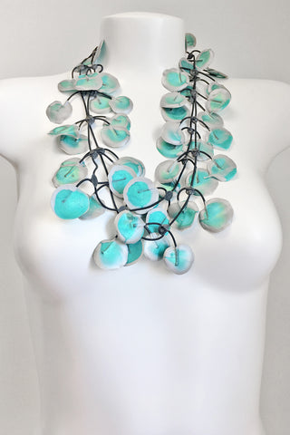 Annemieke Broenink Poppy Necklace Summer Turquoise
