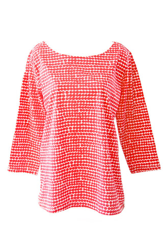 See Design Peas Shirt Red/White