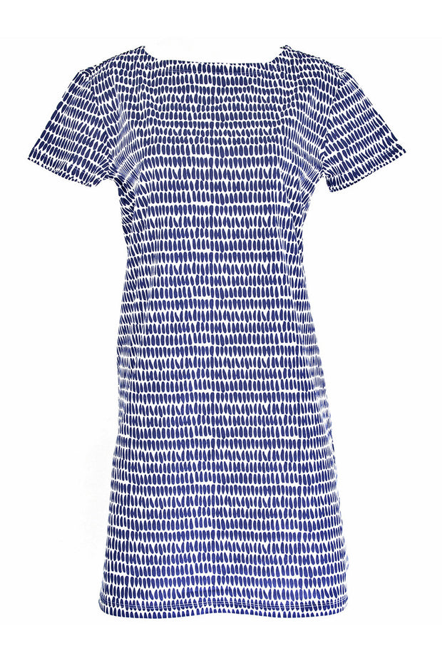 See Design See Design Seeds Dress Navy/White - KIITOSlife