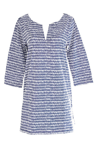 See Design Seeds Tunic Navy/White