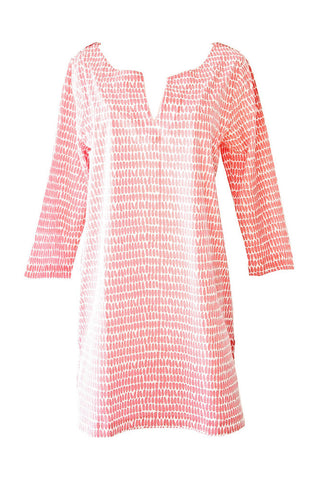 See Design Seeds Tunic Pink/White