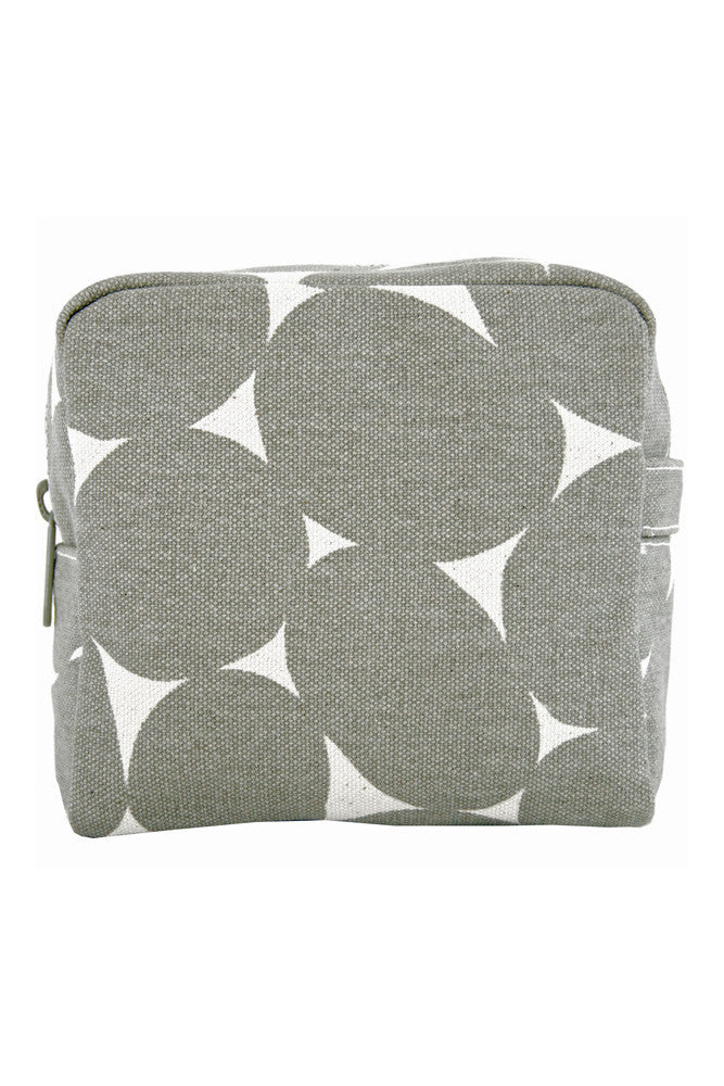 See Design See Design Small Cosmetic Bag Stones Grey - KIITOSlife