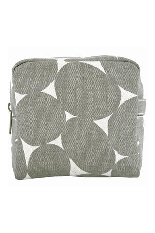 See Design Small Cosmetic Bag Stones Grey