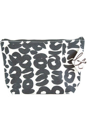 See Design See Design Travel Pouch Large Bag Sake White/Coal - KIITOSlife