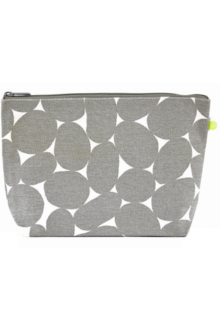 See Design Travel Pouch Large Bag Stones Grey/White