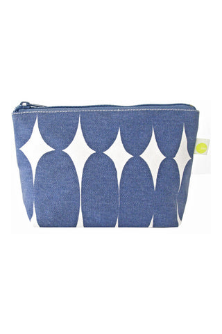See Design Travel Pouch Small Pod Blue/White