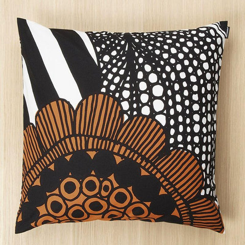"Marimekko Siirtolapuutarha 20"" Pillow Cover White/Orange/Green"