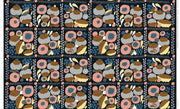 Marimekko Marimekko Suovilla Cotton-Linen Fabric Black/Peach/Grey - KIITOSlife - 2