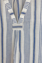 Nest Factory Kaftan Top Blue Stripe