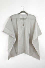 Nest Factory Kaftan Top Thin Blue Stripe