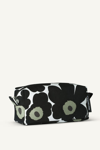 Marimekko Taimi Mini-Unikko 2 Cosmetic Bag White/Black