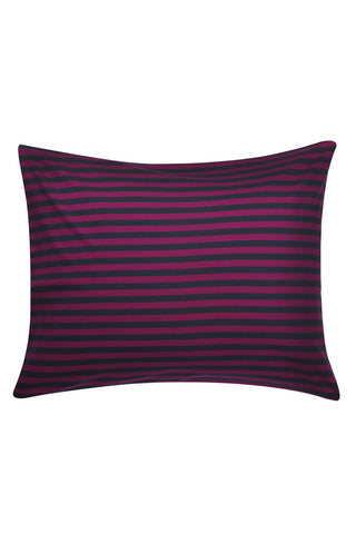 Marimekko Tasaraita Euro Bedding Purple/Graphite