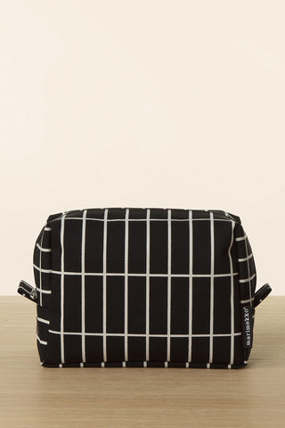 Marimekko Verso Tiiliskivi Cosmetic Bag Black/White
