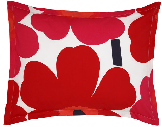 Marimekko Unikko/Pieni Unikko US Sized Bedding Red - KIITOSlife - 6